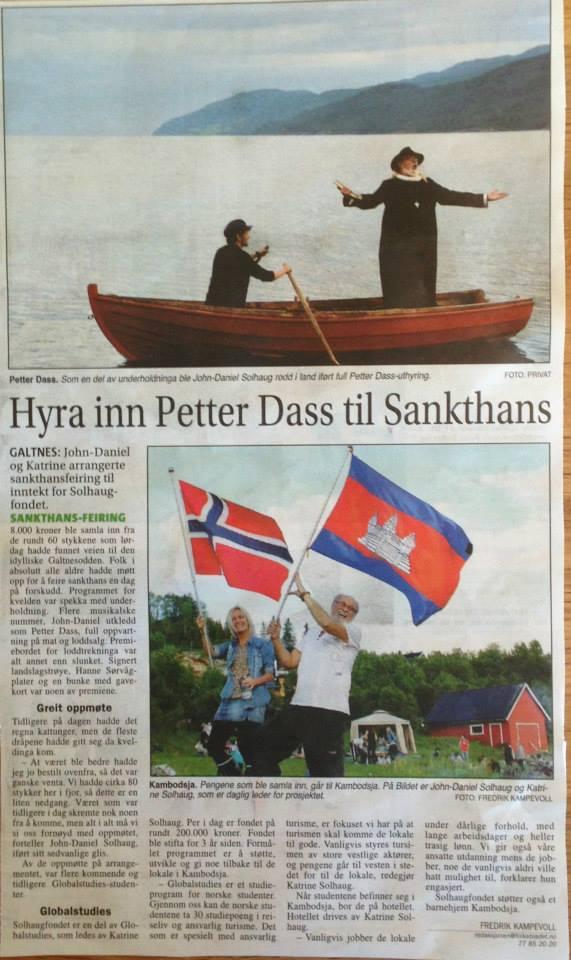 Troms Folkeblad June 2013