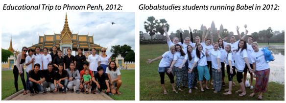 Stafftrip to Phnom Penh - Globalstudies 2012