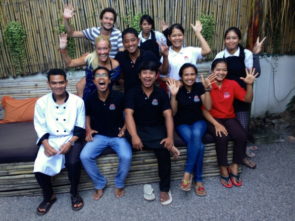 Babel Guesthouse staff